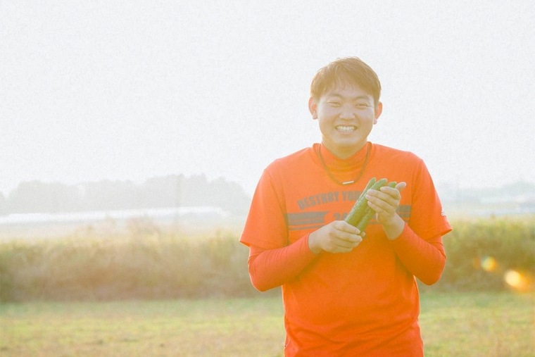 耕作放棄地で希少キュウリを守る、若手農家がクラウドファンディングで50万円の資金調達 – ローカルベンチャー特集