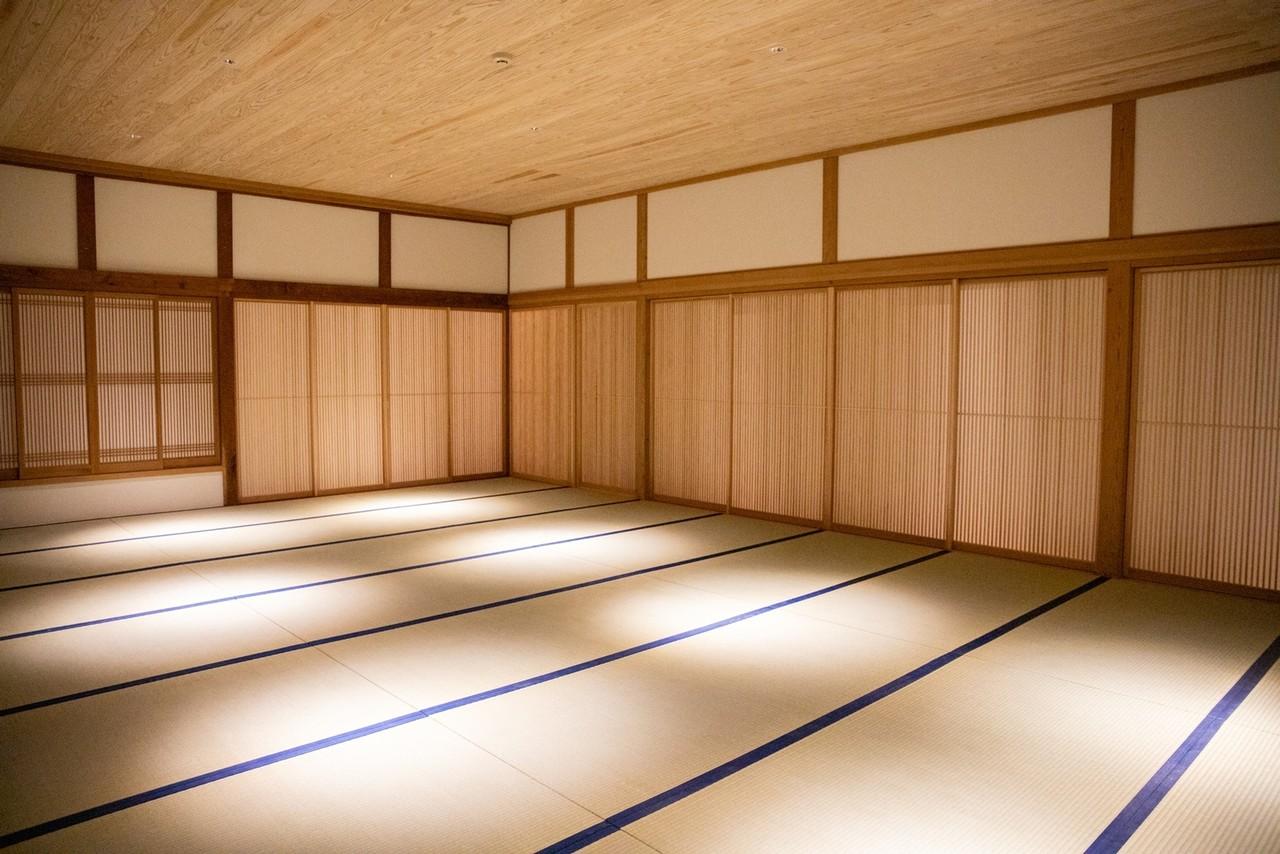 23畳の瞑想ルーム